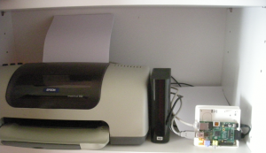 Printer and HDD